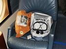 Tréninkové plynové masky pro přípravu posádek NetJets ve výcvikovém středisku