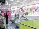 Limetkový odstín zelené vyvinula firma DuPont na přání designéra Rashida.