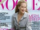 Meryl Streepová na obálce magazínu Vogue (leden 2012)