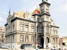Stará správní budova Spolchemie
