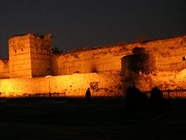 Istanbul, m�stsk� hradby