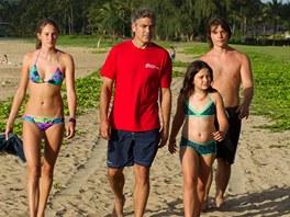 Z filmu Děti moje s Georgem Clooneym