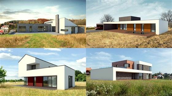 Architektonický atelier - rodinné domy