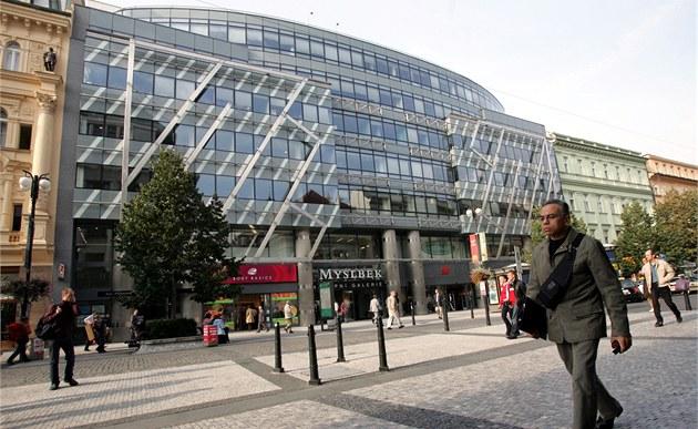 Obchodní centrum Myslbek.