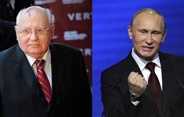 Bývalý prezident Sovětského svazu Michail Gorbačov vyzval exprezidenta a