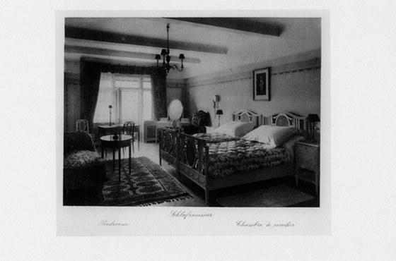 Původní podoba - hotelový pokoj