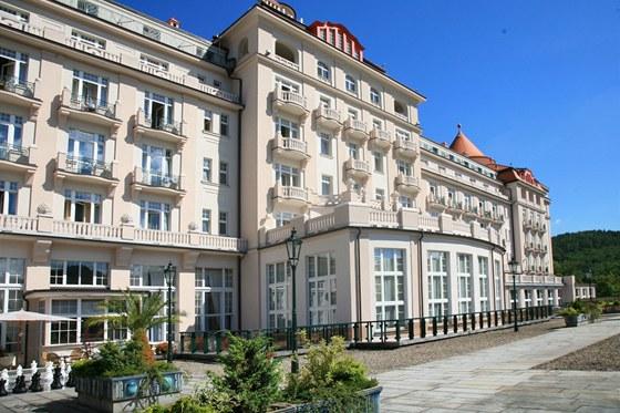 Hotel Imperial patří mezi nejstarší železobetonové budovy na českém území.