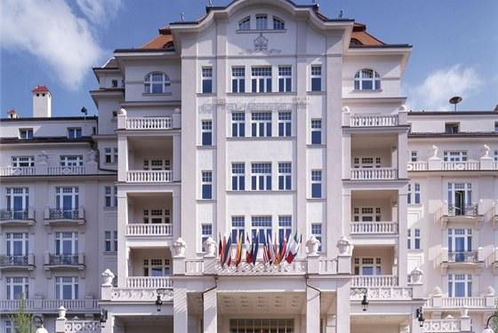 Hotel byl dokončen v roce 1912.