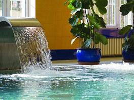 Bazén v hotelu Imperial