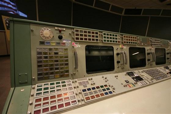 Původní středisko řízení vesmírných letů, ze kterého monitorovaly například let