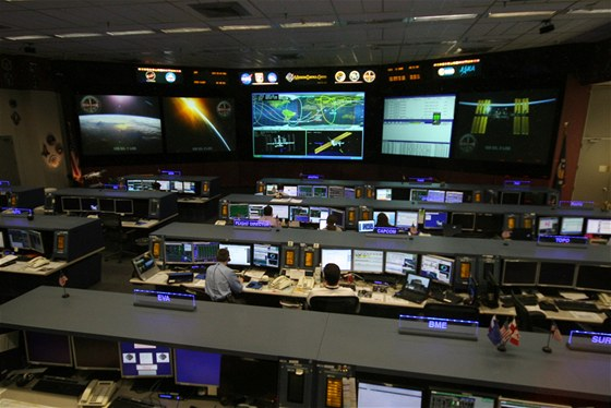 Záběry z ISS