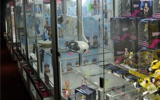 UFO Catcher: v nabídce je široké spektrum zboží od figurek a plyšáků přes hrnky