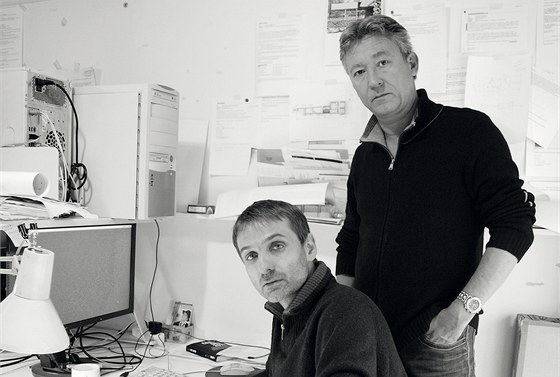 Radovan Schaufler (1959) a Jakub Roskovec (1967) jsou spolužáci z Fakulty