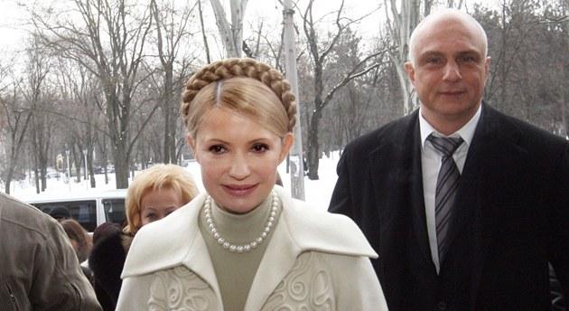 Man�el ukrajinské expremiérky Olexandr Tymo�enko po�ádal v �esku o azyl.