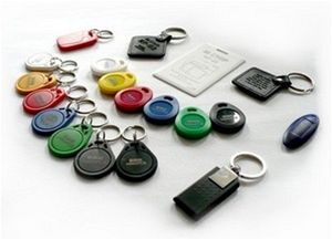 RFID přístupové čipy ve formě klíčenky