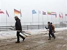 Nové Město na Moravě se chystá na Světový pohár v biatlonu.