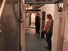 Filtrovna bunkru S- 7 vytvo�ila v podzem� m�rn� p�etlak, kter� zabra�oval
