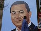 Mubarak byl nedotknutelným vůdcem. Když při slavné stávce textilních dělníků ve