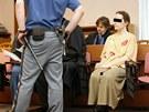 Hana K. ode�la od M�stsk�ho soudu s podm�nkou. (5. ledna 2012)