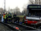Tragická nehoda autobusu MHD v Březhradě u Hradce Králové. (4. dubna 2003)