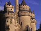 Střílny hradu jsou pouhou dekorací.