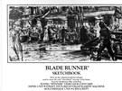 Uk�zka z knihy skic k filmu Blade Runner, kter� je voln� p��stupn� na internetu