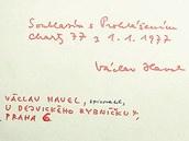 VÁCLAV HAVEL. Dramatik a spisovatel