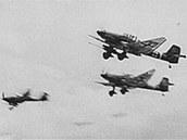 Protitanková verze střemhlavého bombardéru Ju-87G