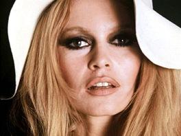 Herečka Brigitte Bardotová