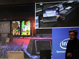 Na tiskovce Intelu byl k vid�n� i notebook ovl�dan� gesty. Funk�nost z�stupce
