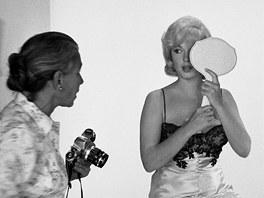 Eve Arnoldová fotografuje Marilyn Monroe