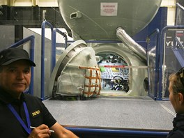 Do Sojuzu se vešli tři astronauti, ale pohodlné to rozhodně nebylo