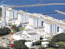 Japonská jaderná elektrárna Fukušima.