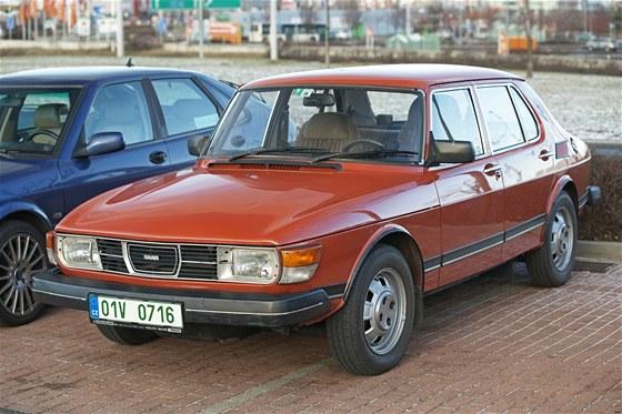 Pražský sraz na podporu značky Saab
