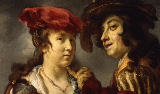 Jan van Noordt: Mladý pár