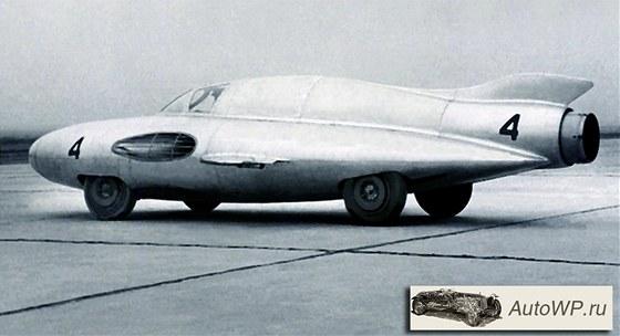 GAZ-TR s reaktivním motorem ze stíhačky MIG-17 měl být nejrychlejším autem na