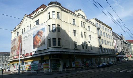Módní dům Ostravica v roce 2007.