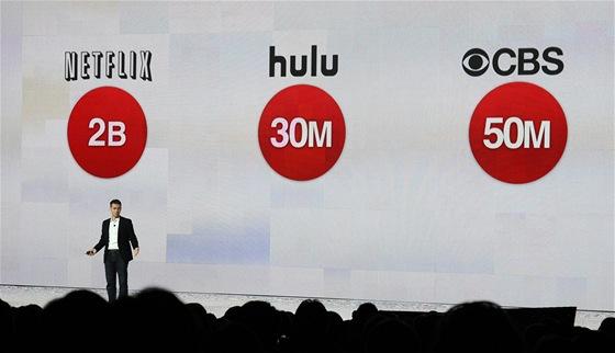 Robert Kyncl z YouTube mluví na CES 2012. Netflix nastreamuje každé tři měsíce