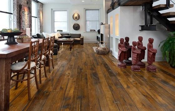 Dřevěné podlahy se staly fenoménem.