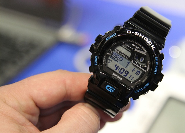 Casio G-Shock GB 6900 hodiny s Bluetooth LE.