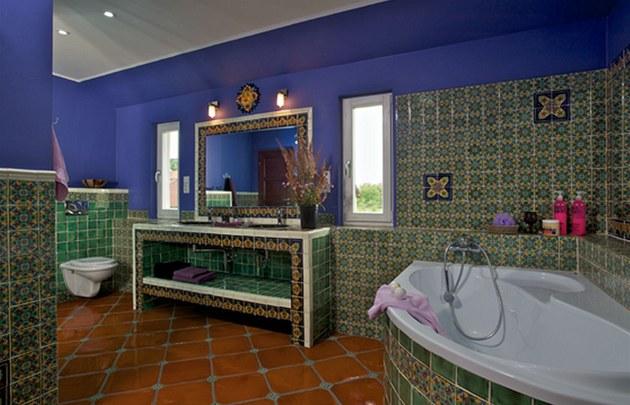 Koupelna má 16 metr� �tvere�ních.
