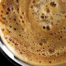káva s pěnou