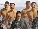 Cvi�en� se odehr�valo v  Pchjong�changu, 180 kilometr� v�chodn� od Soulu.