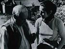 Třiatřicetiletá Francoise Gilotová a Pablo Picasso