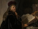 Rembrandt Harmensz. van Rijn: U�enec v pracovn�