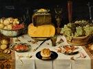 Nicolaes Gillis: Zátiší na stole