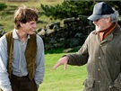 Steven Spielberg při natáčení filmu Válečný kůň