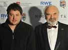 Ceny české filmové kritiky za rok 2011: Zdeněk Svěrák předal Robertu Sedláčkovi