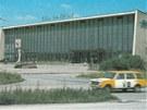 Havířovská nádražní výpravní budova v roce 1984.
