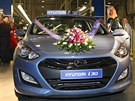 No�ovick� automobilka spustila v�robu nov�ho modelu Hyundai i30. (17. ledna